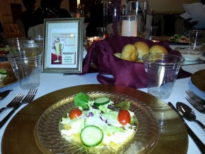 Table Setting at Bea Gaddy Gala